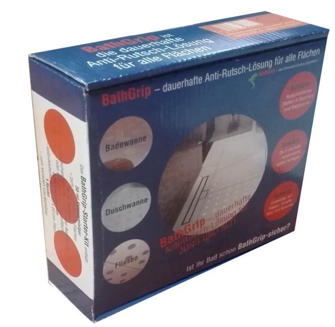 bathgrip starter kit anti rutsch f r badewanne dusche. Black Bedroom Furniture Sets. Home Design Ideas