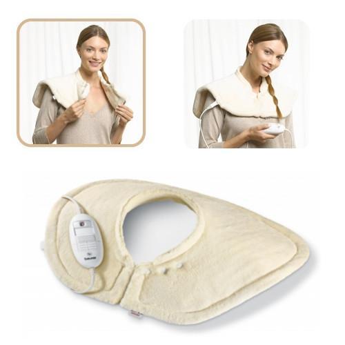 neu beurer hk54 schulter nacken nackenheizkissen heizkissen massage w rmekissen. Black Bedroom Furniture Sets. Home Design Ideas