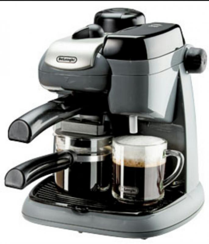 neu delonghi ec 8 1 espressomaschine kaffeemaschine siebtr ger kaffee maschine. Black Bedroom Furniture Sets. Home Design Ideas