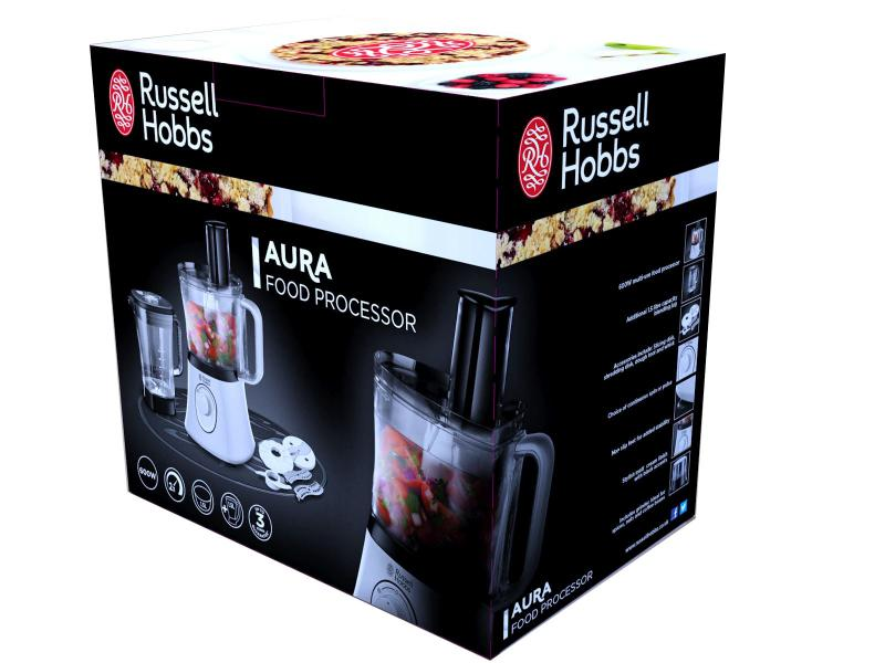 russell hobbs aura food processor k chemaschine mixer standmixer k chenger t ebay. Black Bedroom Furniture Sets. Home Design Ideas